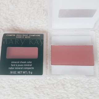 Champagne Rose Mineral Cheek Color Blush By Mary Kay