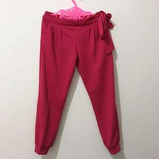 Jogger Pants - Pink