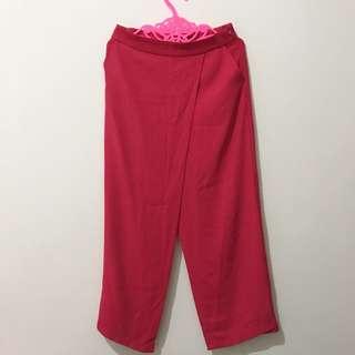 NEW - Pink Wide Cut Pants