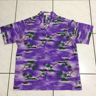 Vintage 夏威夷 花襯衫   古著 / 老品 /  復古風格 / 西岸滑板風格