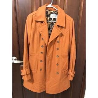 秋冬色大衣外套