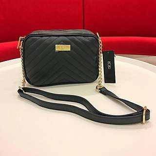 BCBG QUILTED CROSSBODY HANDBAG