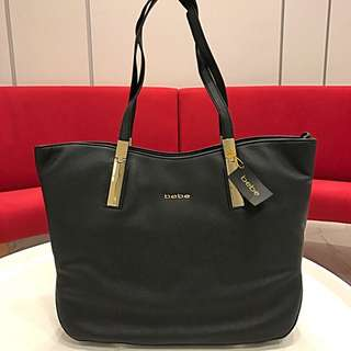 BEBE ASHLEY TOTE HANDBAG