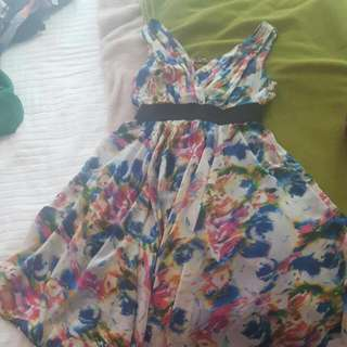 Floral Dress Small