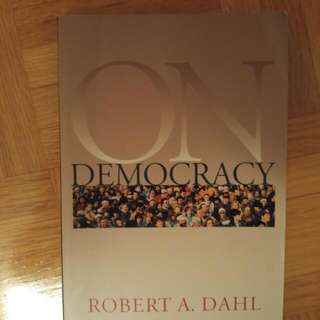 ON Democracy By Robert Dahl