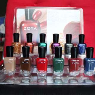 ✨SALE✨ ZOYA Cashmeres & Satins Collection with Display Stand