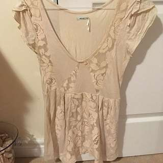 Flowy Cream Shirt