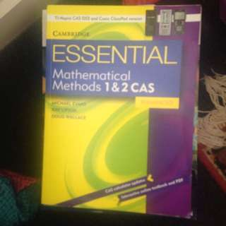 Math Methods Cas Cambridge