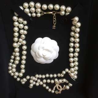 Chanel Necklace Authentic With Purchase Recipt