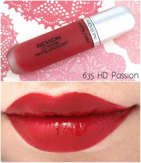 Revlon Ultra HD Matte Lipcolor, Passion