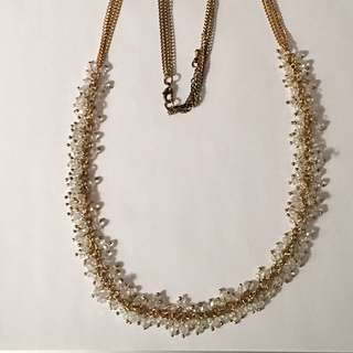 multi-stone Long Length Necklace