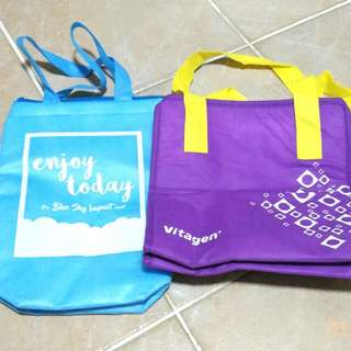 [BN] Cooler Thermal Bag   Blue Purple
