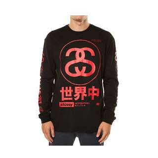 Stussy Japan Custom Made Longsleeve Tee