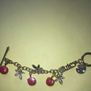 Juicy Couture Apple Charm Bracelet
