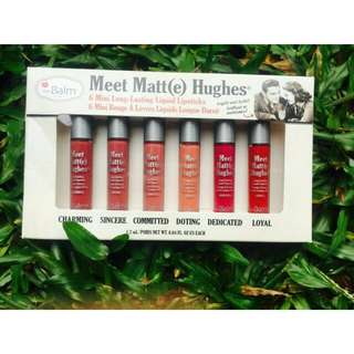 The Balm Meet Matte Hughes Original Travel Size