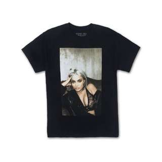 Kylie Jenner Lace & Leather Tee Tshirt Original Pre-Order from Kylie Jenner shop