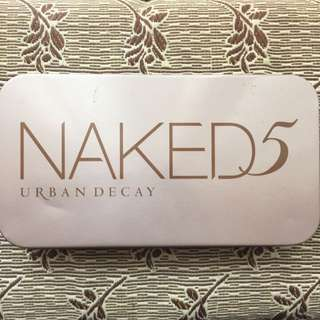 Urban Decay Naked5 Professional Makeup Brush Set