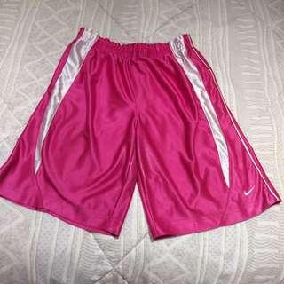 Nike Pink Sports Wear Shorts