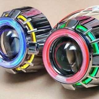 lampu depan motor/mobil projektor