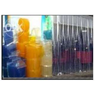 pvc plastic curtain