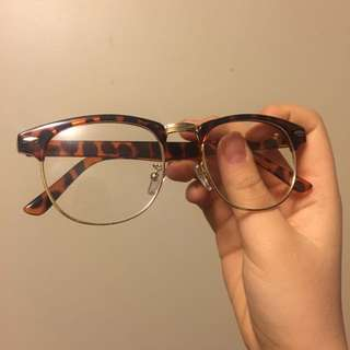 Leopard Lear Glasses