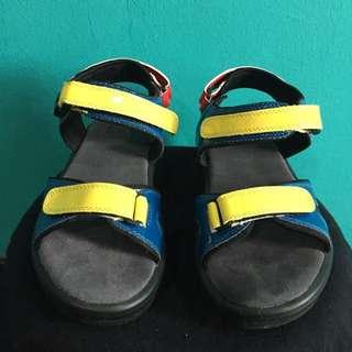 Colourful Platform Sandals