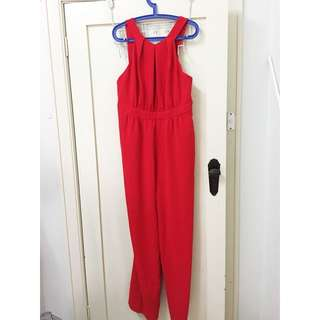 SHEIKE - Red Jumpsuit