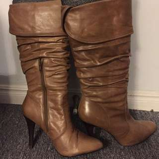 Sexy & Cute Heel Boots from Aldo - Size 7