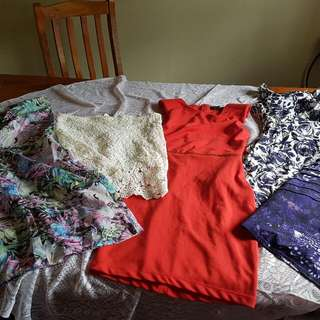 Red Dress Is Kardashian  Skirt And Purple Dress Valleygirl Floral Dress Is Ice Last One Is Naked Saint