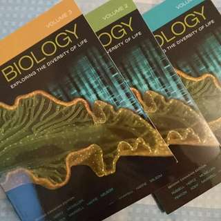 Biology Exploring The Diversity Of Life Vol 1-3