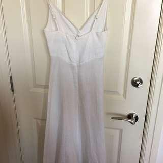 Portman Linen Slip Dress
