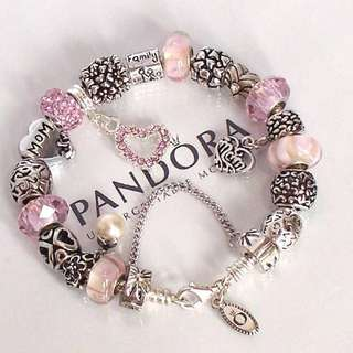 WTB: Authentic PINK Pandora Charms!