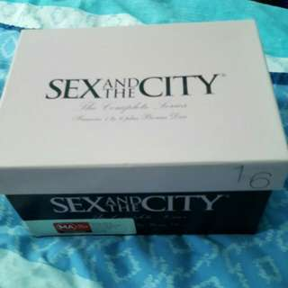 Sex And The city Shoebox Collection