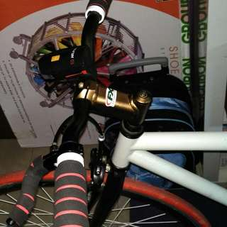 Bicycle Fixie Good Condition Nice Colour For Sale Seldom Use Tubeless Tire Hassle Free...100 Take And Go No Lower Than This...