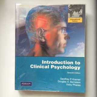 Introduction To Clinical Psychology (7th Edition)