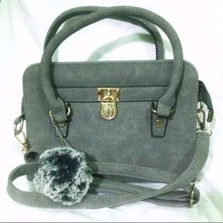 Square Grey Bag