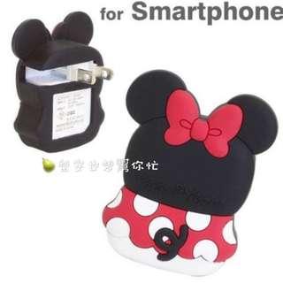 迪士尼⭐米奇 米妮 3眼怪 USB充電器