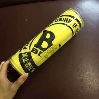 Bar 黃色毛巾