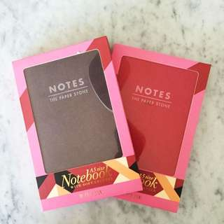 A5 Size Notebooks (with Soft Leather Covers)
