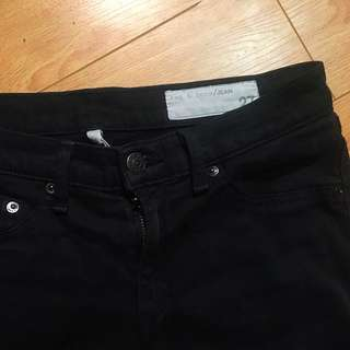 Rag and Bone Skinny jeans (Lowrise)