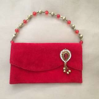 Red Clutch, Indian, New