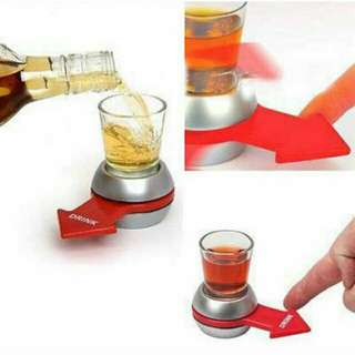 Spin The Shot Drinking Game Family Game