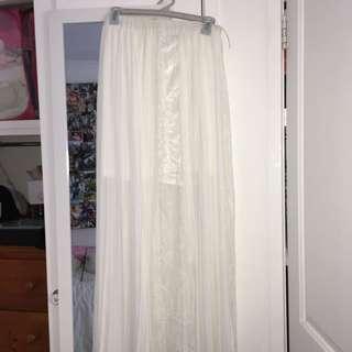Boohoo Maxi skirt