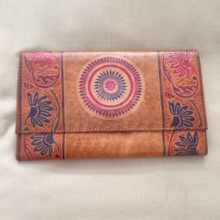 Brown Design Clutch, Indian, New