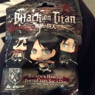 Attack On Titan Backpack Hanger Levi