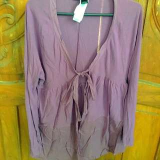 MNG Purple Cover Up (Cardigan)
