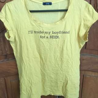 Yellow Statement Shirt