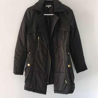 Valley girl Black Puff Jacket