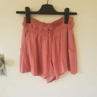 Jeanswest Culottes Shorts Pinky Red Size 8