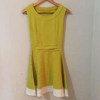 Green Lime Dress
